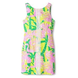 Lilly Pulitzer For Target Flamingo Shift Dress